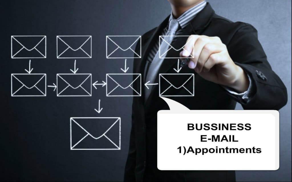 ビジネス英語・メール実践対応ー❶ーアポ取り英文メールの書き方