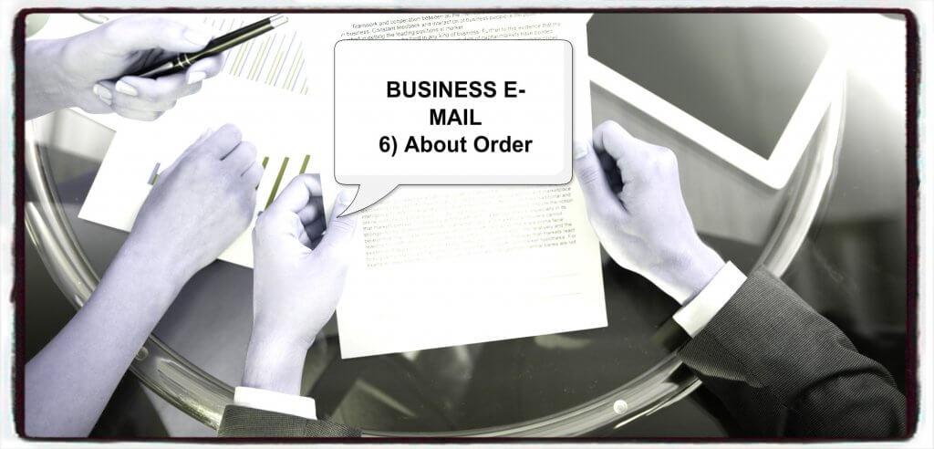 ビジネス英語・メール実践対応ー❻ー注文・発注英文メールの書き方