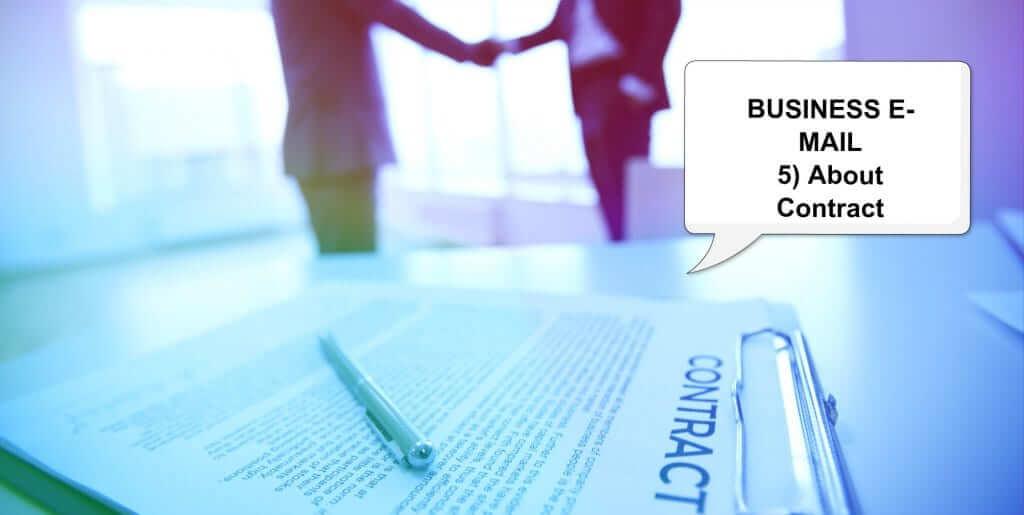 ビジネス英語・メール実践対応ー❺ー契約に合意・変更・解除英文メールの書き方