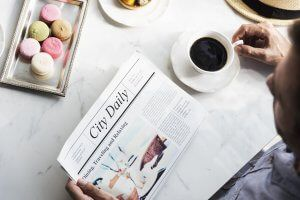 【誤答続出!?】猿でも分かる英字新聞の見出しの読み方でミスしない方法
